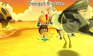 Twegull attacking
