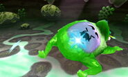 """""""Traveler's Friend Frog"""" Defeated"""