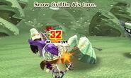 Snow griffin attack