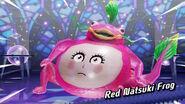 Red Natsuki Frog