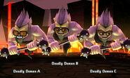 Deadly Demons in battle