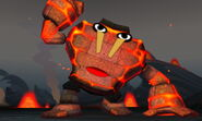 Burning Golem First Appearance