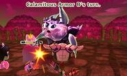 Calamitous Armor attacks