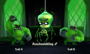 Arachnotraveler with Trolls