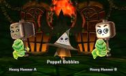 Fighting Puppet Traveler in Castle Annex