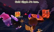 Gold Glyph attacks