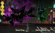 Dark King and Dark Queen In-Battle