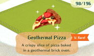 Geothermal Pizza