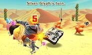 Silver Glyph attacks