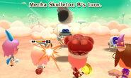 Mecha Skulleton attacks