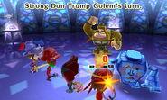 Strong Golem Attacks