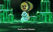 Traveler Hammer In battle