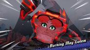 Burning May Golem