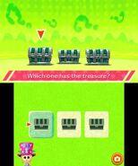 Treasure chest shuffle