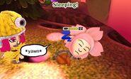 Sleeping Mii