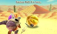 Cactus ball attacks