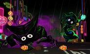 Dark King Dark Queen taking damage