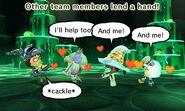 Helpful teammates