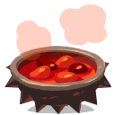 Flaming Chilli Soup ★