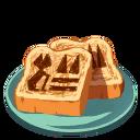 Hieroglyph Toast ★