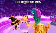Roll Hopper attacking