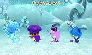 Frozen Status Effect