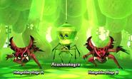 Arachnotraveler with Hobgoblin Mages