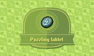 Puzzling tablet