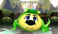 """Traveler's Friend Frog"" Inhale - First Time"
