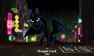 Dragon Lord in battle