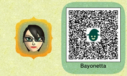 Miitopia - Nintendo Fan Bayonetta QR Code