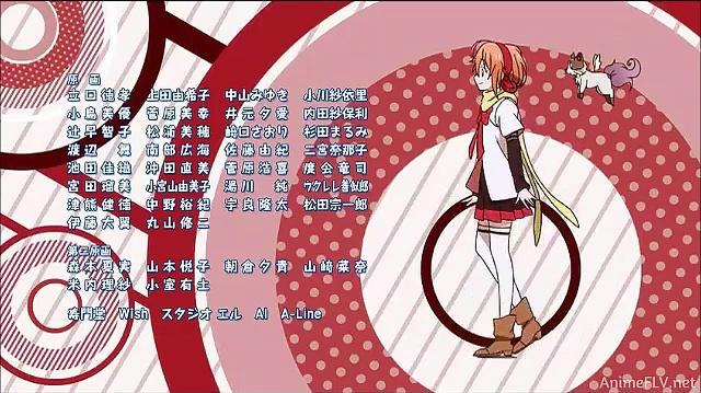 Mikagura Gakuen Kumikyoku ending - Rakuen Fanfare