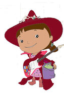 Mike the knight evie playing guitar by jackandannie180