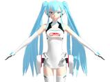 Miku Hatsune Race Queen 2014 (Kuroyu)