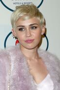 Miley-cyrus-pre-grammy-gala-in-los-angeles-january-2014 1