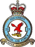 23 Squadron badge