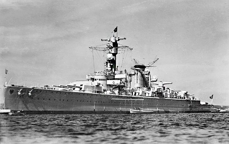 German cruiser Deutschland