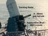 MK 15 Phalanx Close-In Weapons System (CIWS)