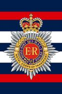 RCT cap badge