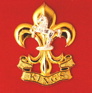 Kings regiment badge