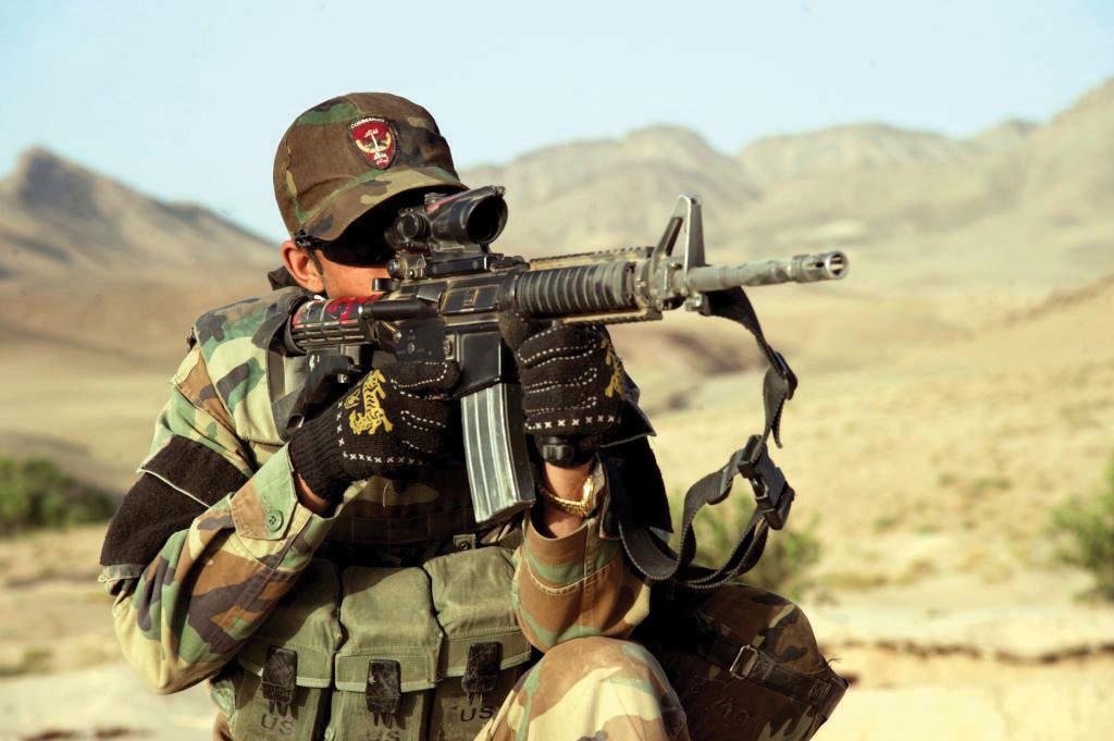 Afghan National Army Commando Corps