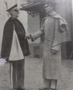 BMI, Col. Landon with Cadet Chapman, USMA, BMI 29