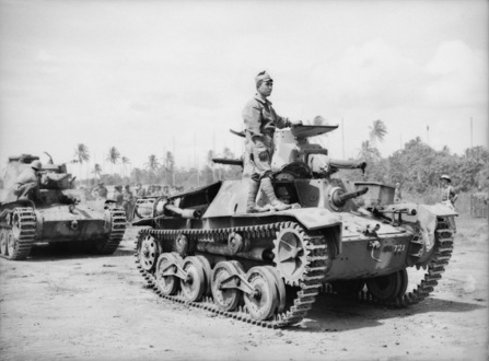 Tanks in the Japanese Army