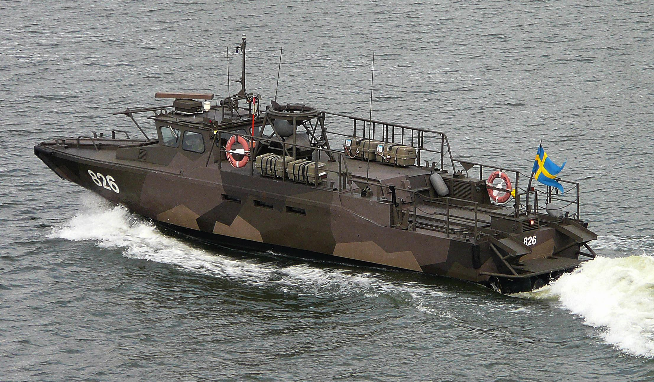 List of military equipment of Sweden