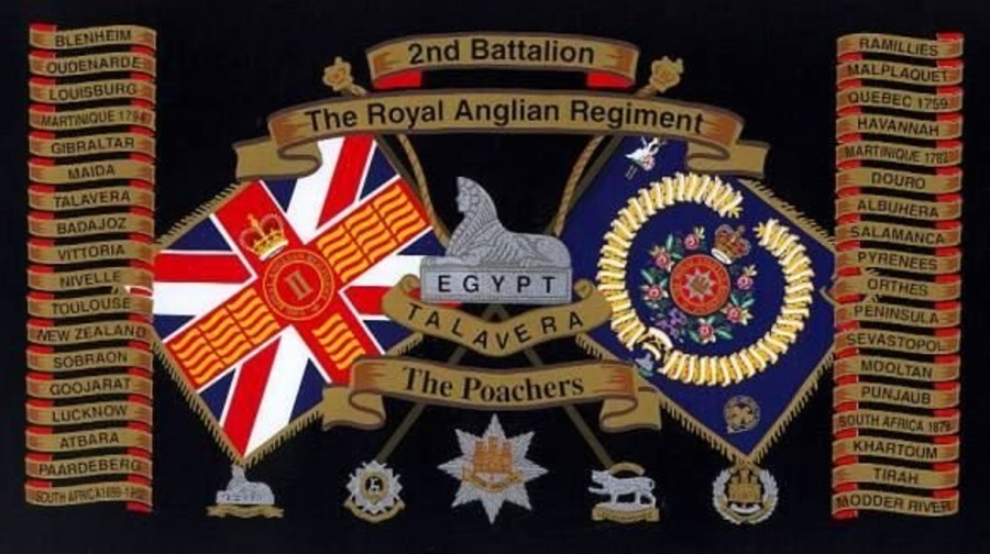 2nd Battalion, The Royal Anglian Regiment