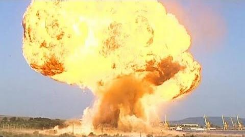 Huge gas explosion in Bulgaria injures 11 - no comment.