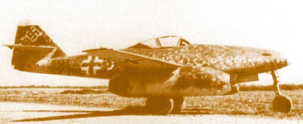 Messerschmitt Me-262A-2a Sturmvogel
