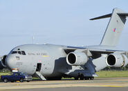 RAF RAAF USAF C-17s 2007