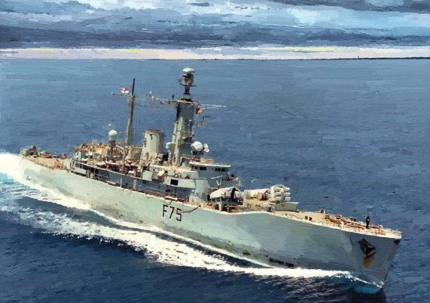 HMS Charybdis (F75)