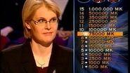 Haluatko miljonääriksi? -jakso (28.10